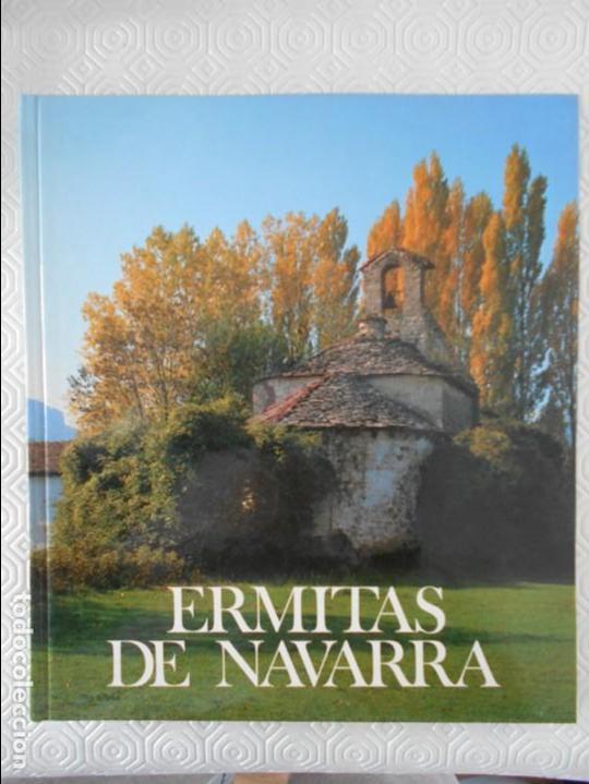 ERMITAS DE NAVARRA. FERNANDO PEREZ OLLO. CAJA DE AHORROS DE NAVARRA. 1983. TAPA DURA. FOTOGRAFIAS EN (Libros de Segunda Mano - Bellas artes, ocio y coleccionismo - Otros)
