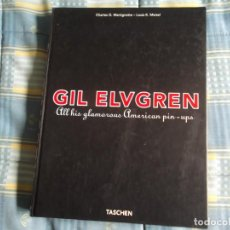 Libros de segunda mano: GIL ELVGREN MERICAN PIN-UPS TASCHEN. Lote 138612446