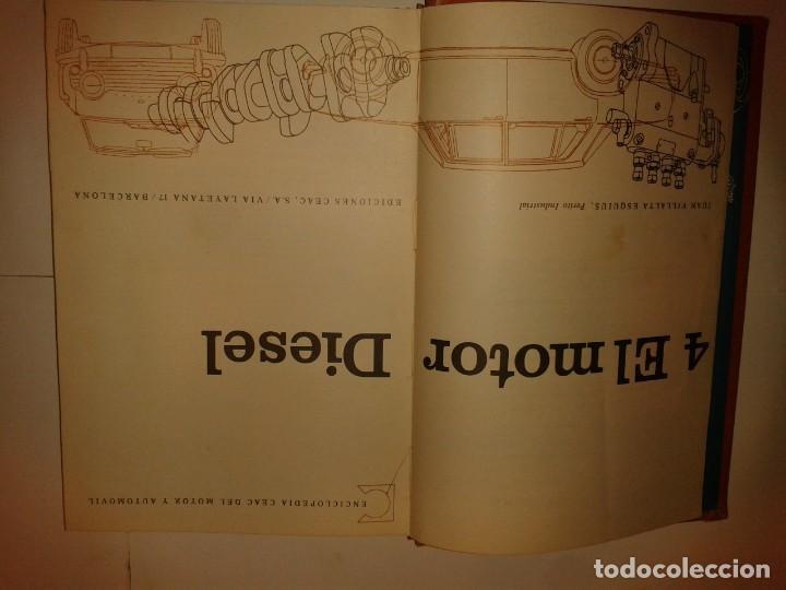 Libros de segunda mano: EL MOTOR DIESEL 1969 JUAN VILLALTA ESQUIUS 3ª EDICIÓN CEAC ENCICLOPEDIA MOTOR Y AUTOMOVIL - Foto 2 - 138650770