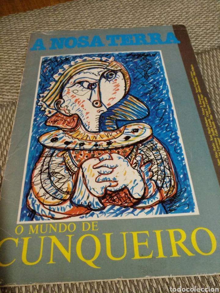 A NOSA TERRA. O MUNDO DE CUNQUEIRO. 1984 (Libros de Segunda Mano (posteriores a 1936) - Literatura - Otros)