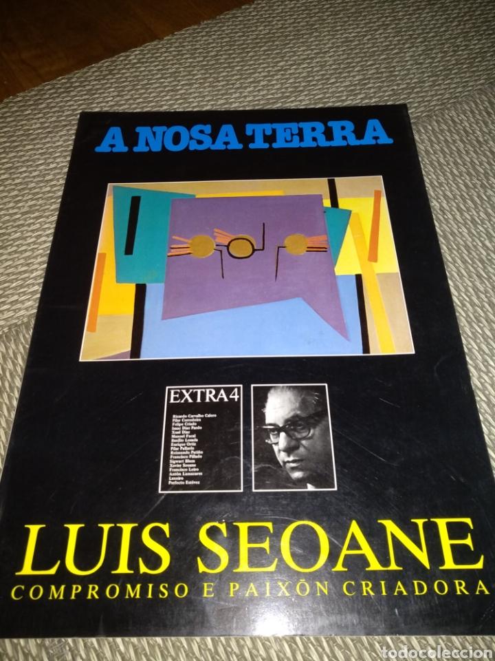 A NOSA TERRA. LUIS SEOANE,1985 (Libros de Segunda Mano (posteriores a 1936) - Literatura - Otros)