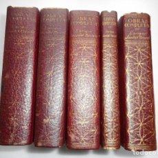 Libros de segunda mano: ENRIQUE JARDIEL PONCELA OBRAS COMPLETAS (5 TOMOS) Y90811. Lote 138754258