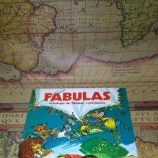 Libros de segunda mano: FÁBULAS. ANTOLOGÍA DE FÁBULAS CASTELLANAS. SUSAETA 1976.. Lote 138775306