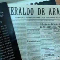 Libros de segunda mano: HISTORIA DE UN CENTENARIO 1895-1995 HERALDO ARAGÓN . Lote 138789394