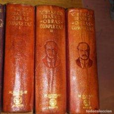 Libros de segunda mano: ETERNAS, BLASCO IBÁÑEZ, PRIMERA EDICIÓN, AGUILAR. Lote 138906350