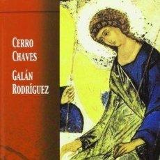Libros de segunda mano: ICONOS. BELLEZA Y ORACIÓN - CERRO CHAVES, FRANCISCO. Lote 76094598
