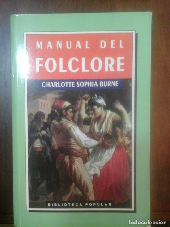 MANUAL DEL FOLCLORE (Libros de Segunda Mano - Ciencias, Manuales y Oficios - Otros)