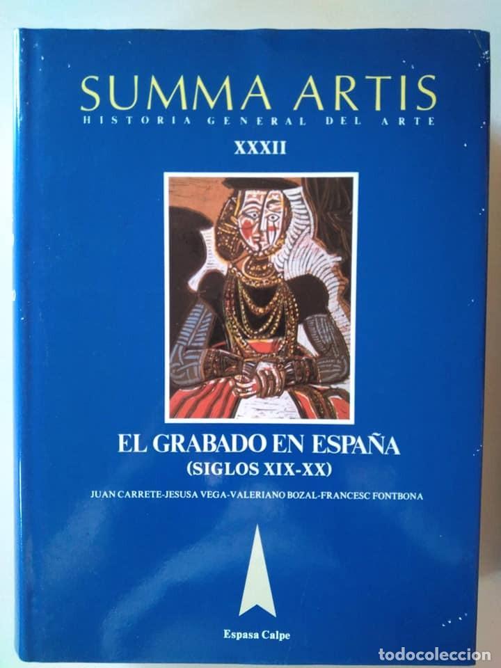 Libros de segunda mano: Summa Artis XXXI y XXXII. El grabado en España (Siglos XV-XVIII) y (XIX-XX) - Foto 2 - 138943570