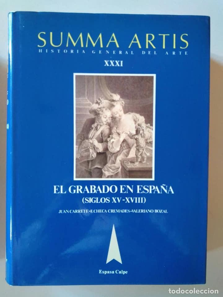Libros de segunda mano: Summa Artis XXXI y XXXII. El grabado en España (Siglos XV-XVIII) y (XIX-XX) - Foto 3 - 138943570