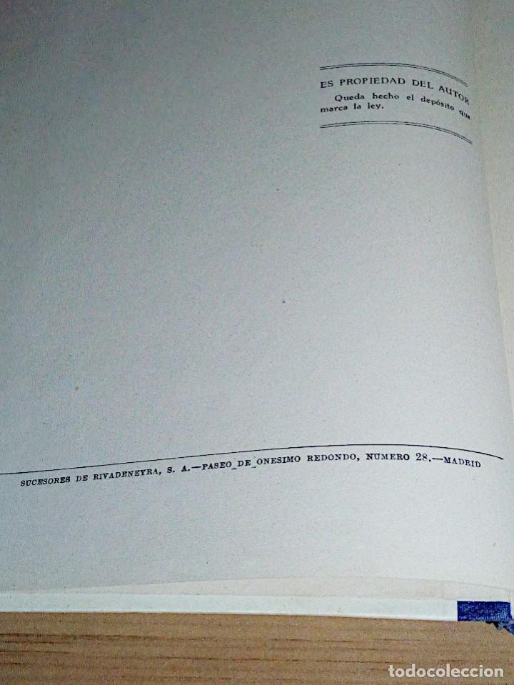 Libros de segunda mano: LA VERDADERA MECANOGRAFÍA AL TACTO. DOMINGO CASTAÑEDA, GREGORIO. RYVADENEYRA. 1 ª ED. 1949 - Foto 5 - 138945206