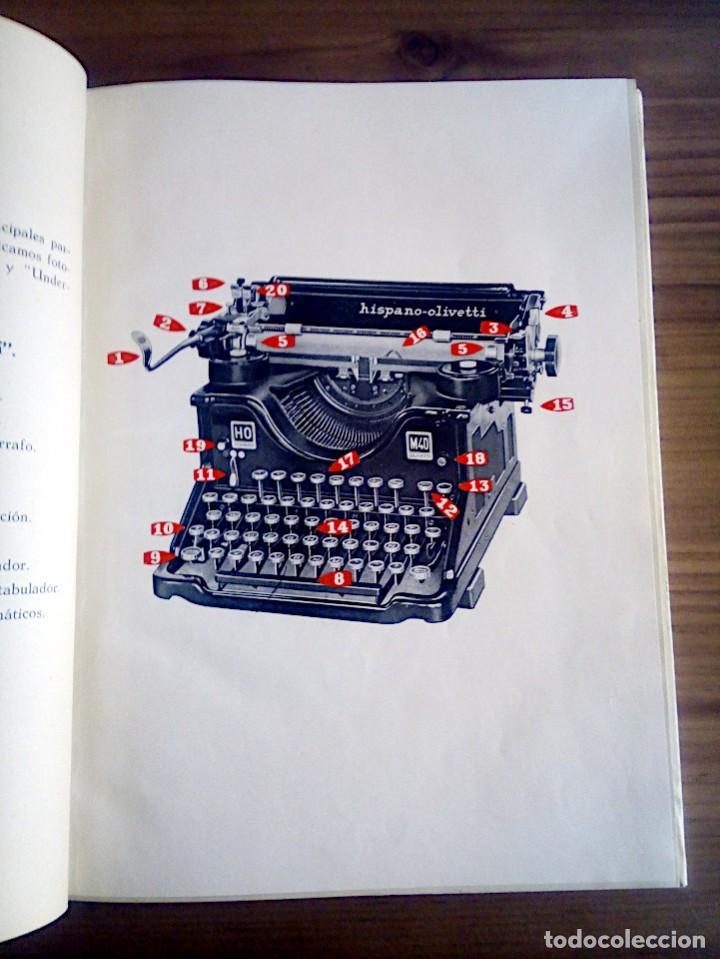 Libros de segunda mano: LA VERDADERA MECANOGRAFÍA AL TACTO. DOMINGO CASTAÑEDA, GREGORIO. RYVADENEYRA. 1 ª ED. 1949 - Foto 9 - 138945206