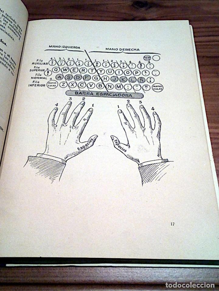 Libros de segunda mano: LA VERDADERA MECANOGRAFÍA AL TACTO. DOMINGO CASTAÑEDA, GREGORIO. RYVADENEYRA. 1 ª ED. 1949 - Foto 11 - 138945206
