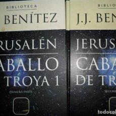 Libros de segunda mano - Caballo de Troya I, Jerusalén. 2 libros, J.J. Benítez, ed. Planeta deAgostini - 138961078