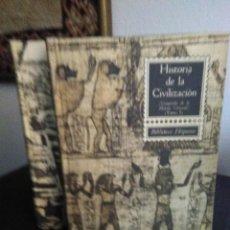 Libros de segunda mano: RICARDO VERA TORNELL, HISTORIA DE LA CIVILIZACIÓN. COMPENDIO DE HISTORIA UNIVERSAL. TOMOS I Y II. Lote 139026114