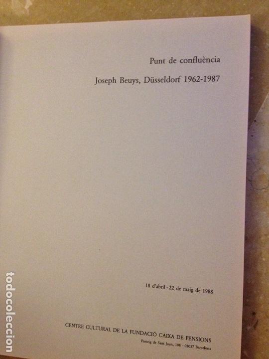 Libros de segunda mano: Punt de confluència (Joseph Beuys, Düsseldorf 1962 - 1987) Fundació La Caixa - Foto 2 - 139046272