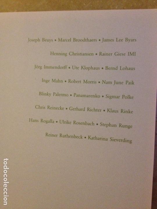 Libros de segunda mano: Punt de confluència (Joseph Beuys, Düsseldorf 1962 - 1987) Fundació La Caixa - Foto 3 - 139046272