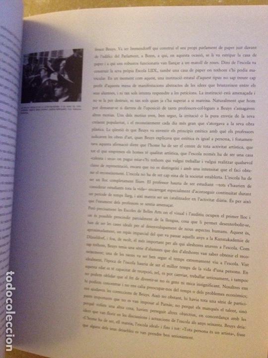 Libros de segunda mano: Punt de confluència (Joseph Beuys, Düsseldorf 1962 - 1987) Fundació La Caixa - Foto 14 - 139046272