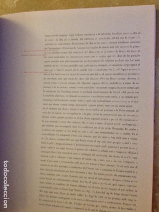 Libros de segunda mano: Punt de confluència (Joseph Beuys, Düsseldorf 1962 - 1987) Fundació La Caixa - Foto 16 - 139046272