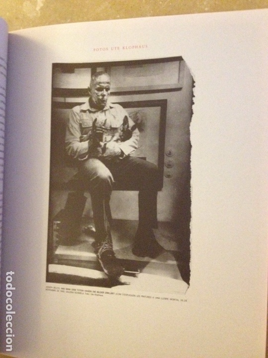 Libros de segunda mano: Punt de confluència (Joseph Beuys, Düsseldorf 1962 - 1987) Fundació La Caixa - Foto 20 - 139046272