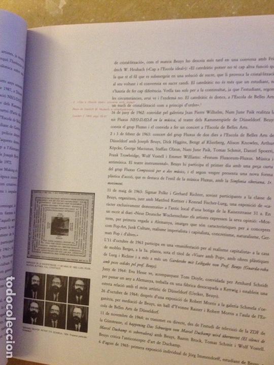 Libros de segunda mano: Punt de confluència (Joseph Beuys, Düsseldorf 1962 - 1987) Fundació La Caixa - Foto 23 - 139046272