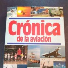 Libros de segunda mano: CRONICA DE LA AVIACION 1992 PLAZA & JANES. Lote 139047060