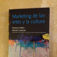 Libros de segunda mano: MARKETING DE LAS ARTES Y LA CULTURA (FRANÇOIS COLBERT / MANUEL CUADRADO) ARIEL. Lote 244533585