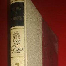 Libros de segunda mano: EL MUNDO DE LOS NIÑOS: POEMAS Y CUENTOS.. Lote 139091478