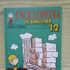 Second hand books - Enciclopedia De Carlitos - Volumen 12 - Gente Y Lugares - Grijalbo - 139125782