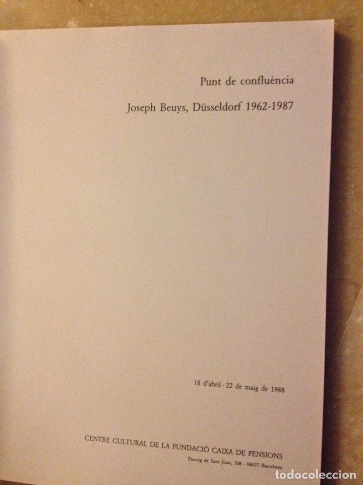 Libros de segunda mano: Punt de confluència (Joseph Beuys, Düsseldorf 1962 - 1987) Fundació La Caixa - Foto 2 - 139126398