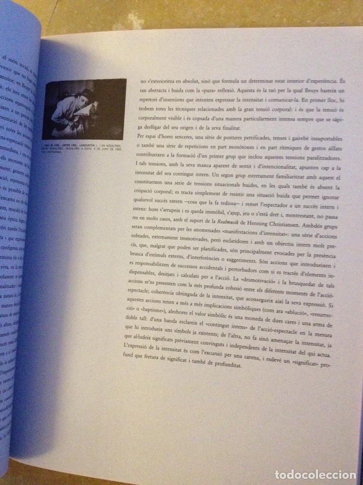 Libros de segunda mano: Punt de confluència (Joseph Beuys, Düsseldorf 1962 - 1987) Fundació La Caixa - Foto 15 - 139126398