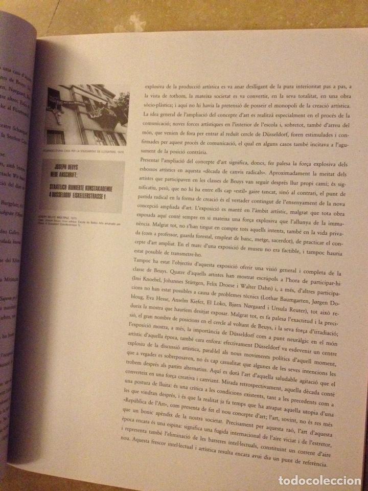 Libros de segunda mano: Punt de confluència (Joseph Beuys, Düsseldorf 1962 - 1987) Fundació La Caixa - Foto 18 - 139126398