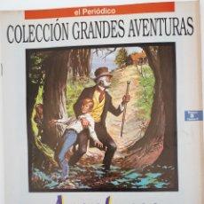 Libros de segunda mano: COLECCIÓN GRANDES AVENTURAS. AVENTURAS DE HUCH FYNN. MARK TWAIN.NUM.8 VOLUMEN II. Lote 139152820