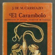 Libros de segunda mano: EL CARAMBOLO DE MATA CARRIAZO.J. Lote 205163357