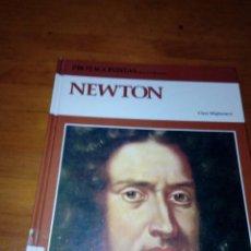 Libros de segunda mano: PROTAGONISTAS DE LA CIVILIZACIÓN. NEWTON. CLARA MIGLIAVACCA. EST22B2. Lote 139203934