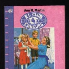 Libros de segunda mano: EL GRAN DÍA DE LA KRISTY POR ANN M. MARTIN · VOLUMEN Nº 6 DE LA COLECCIÓN ''EL CLUB DE LES CANGURS''. Lote 139207178