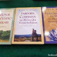 Libros de segunda mano: EL MONJE QUE VENDIÓ SU FERRARI - SABIDURÍA COTIDIANA - LECCIONES SOBRE LA VIDA - ROBIN S.SHARMA. Lote 139219506