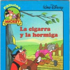 Libros de segunda mano: LA CIGARRA Y LA HORMIGA - WALT DISNEY. EVEREST. Lote 139229914