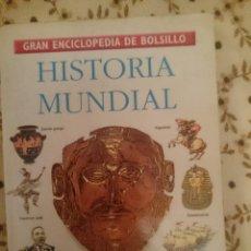 Libros de segunda mano: GRAN ENCICLOPEDIA DE BOLSILLO - HISTORIA MUNDIAL --REFM3E3. Lote 139234070