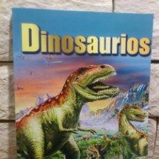 Libros de segunda mano: DINOSAURIOS - EL MUNDO DE LOS DINOSAURIOS - ALBA LIBROS - PRIMERA EDICION - NUEVO. Lote 139241534