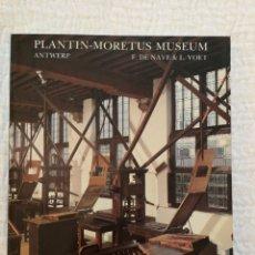 Libros de segunda mano: NAVE, F. DE; VOET, L. ANTWERPEN: MUSEUM PLANTIN - MORETUS. COMO NUEVO. Lote 139297418