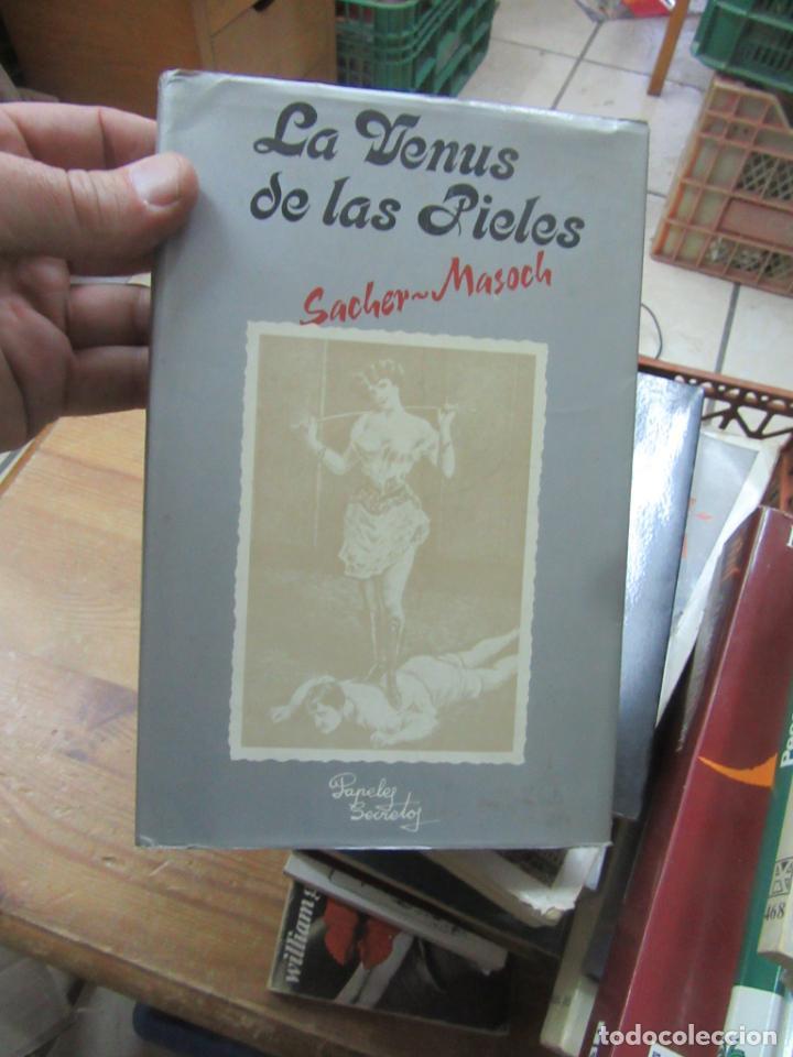 LIBRO LAS VENUS DE LAS PIELES SACHER MASOCH 1979 L-14508-127 (Libros de Segunda Mano (posteriores a 1936) - Literatura - Otros)