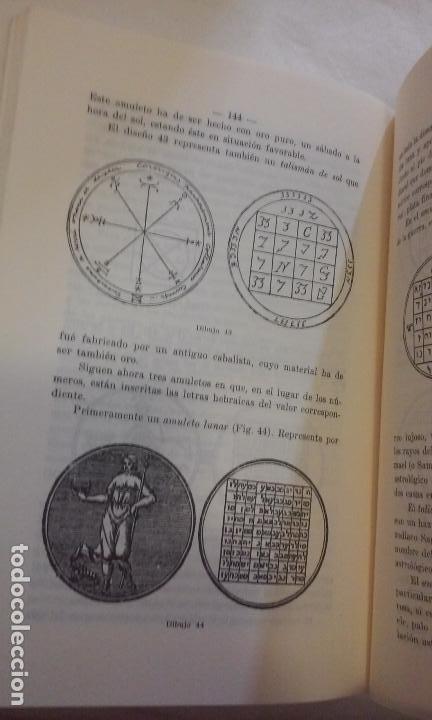 Libros de segunda mano: EL SECRETO DE LOS AMULETOS Y TALISMANES -R.H. LAARSS- - Foto 6 - 139329126
