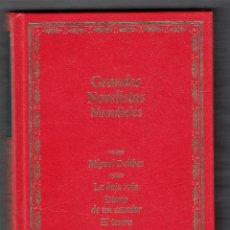 Libros de segunda mano: DELIBES LA HOJA ROJA DIARIO DE UN CAZADOR EL TESORO PLANETA 1991 1ª EDICIÓN COL. GRANDES NOVELISTAS . Lote 139329702
