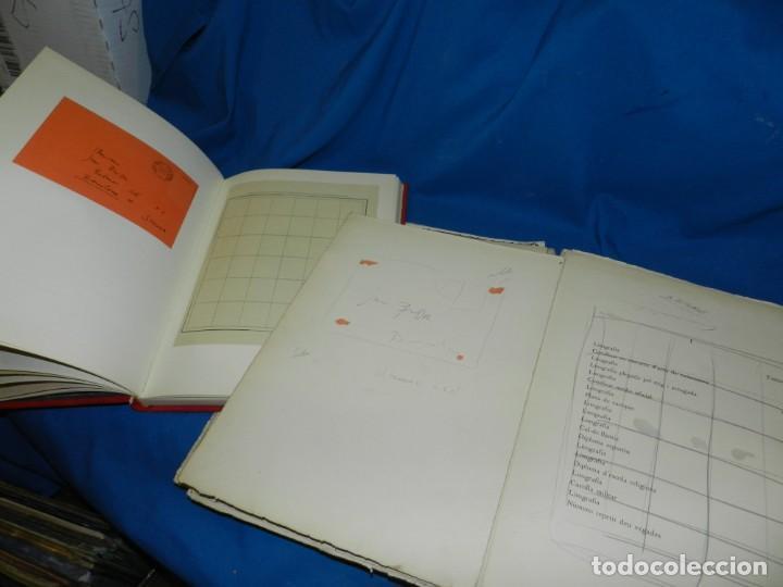 Libros de segunda mano: (M) FREGOLI - LIBRO + LIBRO PROYECTO ORIGINAL JOAN BROSSA Y ANTONI TAPIES , ANOTACIONES MANUSCRITAS - Foto 12 - 139329726