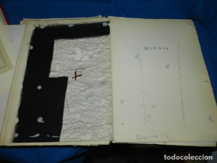 Libros de segunda mano: (M) FREGOLI - LIBRO + LIBRO PROYECTO ORIGINAL JOAN BROSSA Y ANTONI TAPIES , ANOTACIONES MANUSCRITAS - Foto 16 - 139329726