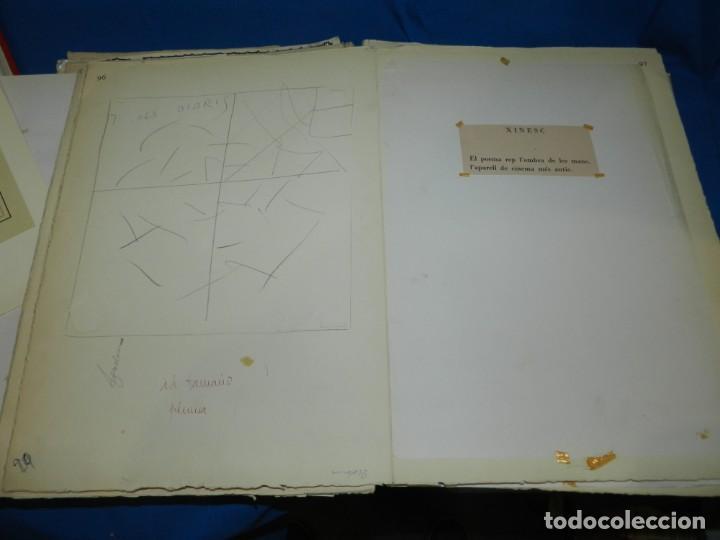 Libros de segunda mano: (M) FREGOLI - LIBRO + LIBRO PROYECTO ORIGINAL JOAN BROSSA Y ANTONI TAPIES , ANOTACIONES MANUSCRITAS - Foto 17 - 139329726