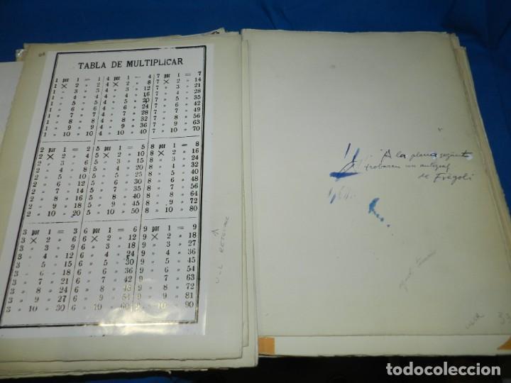 Libros de segunda mano: (M) FREGOLI - LIBRO + LIBRO PROYECTO ORIGINAL JOAN BROSSA Y ANTONI TAPIES , ANOTACIONES MANUSCRITAS - Foto 26 - 139329726