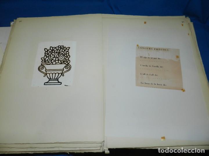 Libros de segunda mano: (M) FREGOLI - LIBRO + LIBRO PROYECTO ORIGINAL JOAN BROSSA Y ANTONI TAPIES , ANOTACIONES MANUSCRITAS - Foto 29 - 139329726