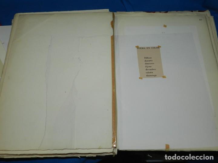 Libros de segunda mano: (M) FREGOLI - LIBRO + LIBRO PROYECTO ORIGINAL JOAN BROSSA Y ANTONI TAPIES , ANOTACIONES MANUSCRITAS - Foto 32 - 139329726