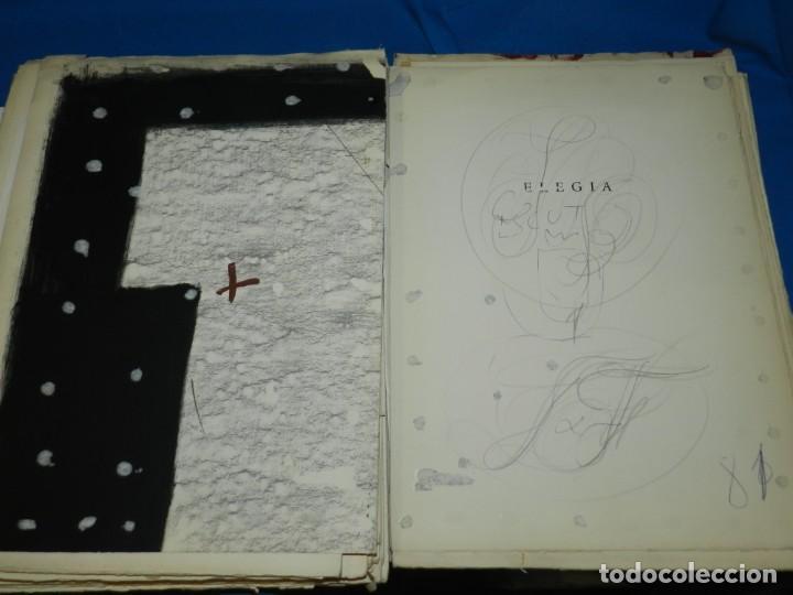 Libros de segunda mano: (M) FREGOLI - LIBRO + LIBRO PROYECTO ORIGINAL JOAN BROSSA Y ANTONI TAPIES , ANOTACIONES MANUSCRITAS - Foto 36 - 139329726